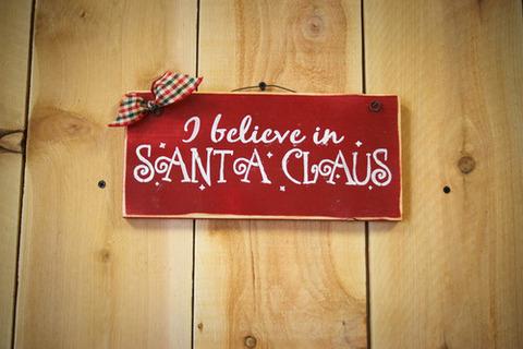 クリスマス サンタクロースの表札