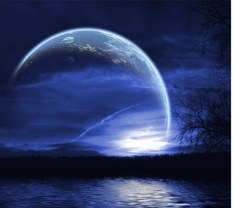 Kichan ブルーの幻想的な夜 20140716