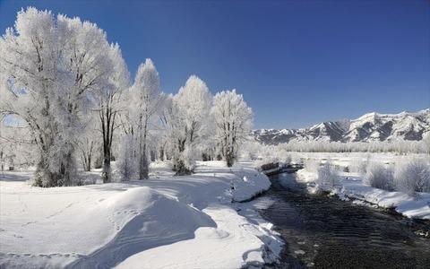 美しい冬景色13
