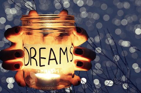 dream手の中の瓶