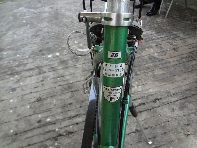 ... 自転車になぜか日本の防犯登録