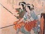 涙橋で戦う婦女隊
