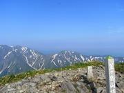 s-09 笠ヶ岳山頂部