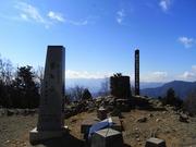 s-14 雲取山山頂部