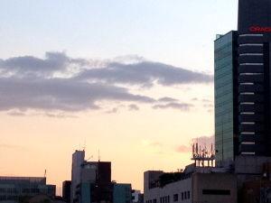 南青山夕焼け2