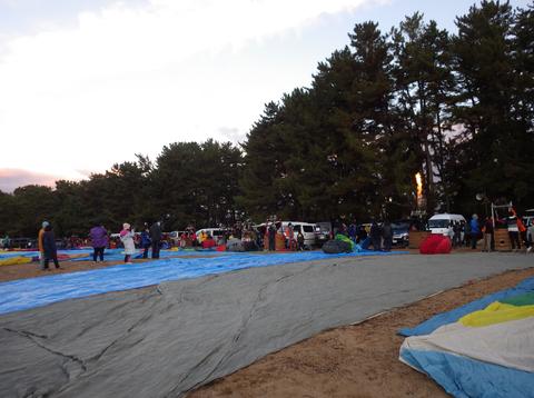 熱気球琵琶湖横断h