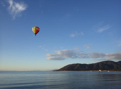 熱気球琵琶湖横断r