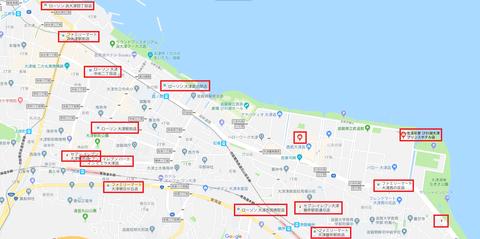 びわ湖大花火大会会場_コンビニ