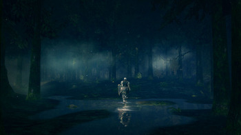 黒い森の庭