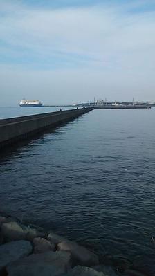 富津北港堤防