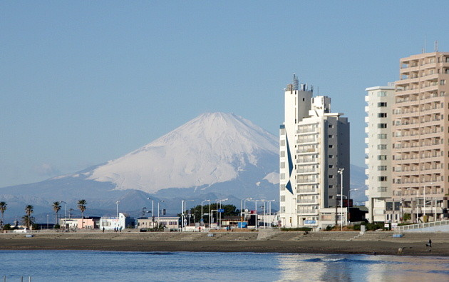 富士山の見える風景っていいですね〜♪
