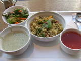091115ピュアカフェ ランチ 野菜のサフジ