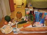 石・島で購入した食材たち!