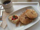 091115ピュアカフェ パンケーキセット