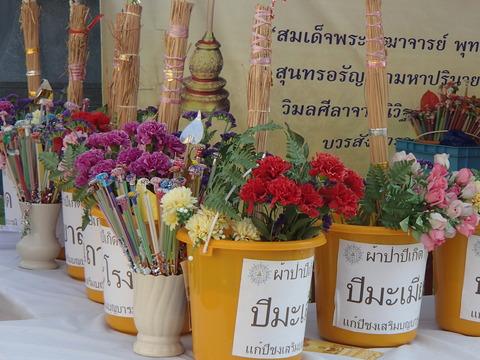 バンコク在住の中国人にとっての心の拠り所―タイ・バンコク/ワット・トライミット