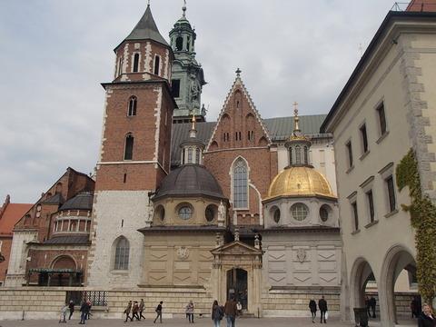 歴代王が居住したポーランド王国時代の古城―ポーランド・クラクフ