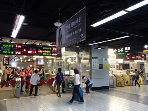 日台関係が変化した民主化後の台湾―台湾・台北駅周辺