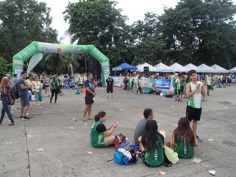 中流以上の階層の人たちの憩いの場―フィリピン・マニラ