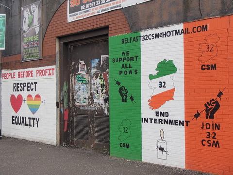 かつての爆弾テロ多発都市の現在―北アイルランド・西ベルファスト/カトリック地区・フォールズ通り