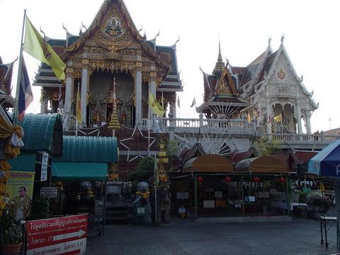 寺を中心とする城下町―タイ・バンコク/ワット・ファランポーン