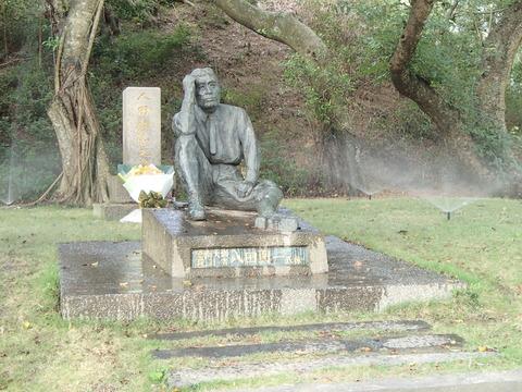八田與一技師の銅像と八田夫妻の墓―台湾・烏山頭