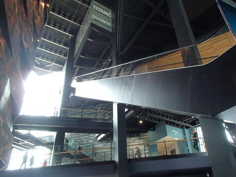 タイタニック号を生んだ北アイルランドの観光博物館①―ベルファスト/タイタニック博物館
