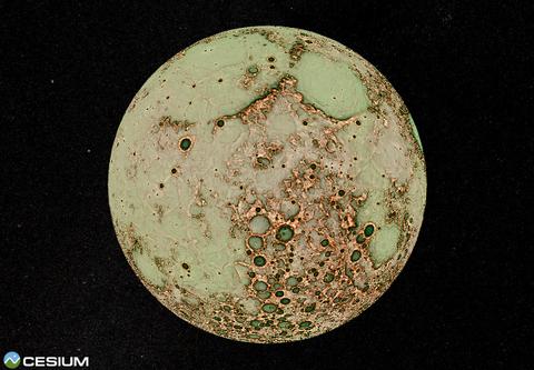 うわ~…月の裏側がキモワル