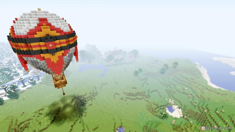 マイクラで気球を作る…鬼門過ぎるぅ!ツラ過ぎるぅ!