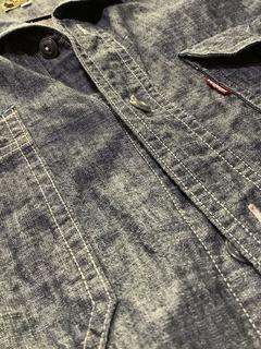シャンブレーシャツ メンズ
