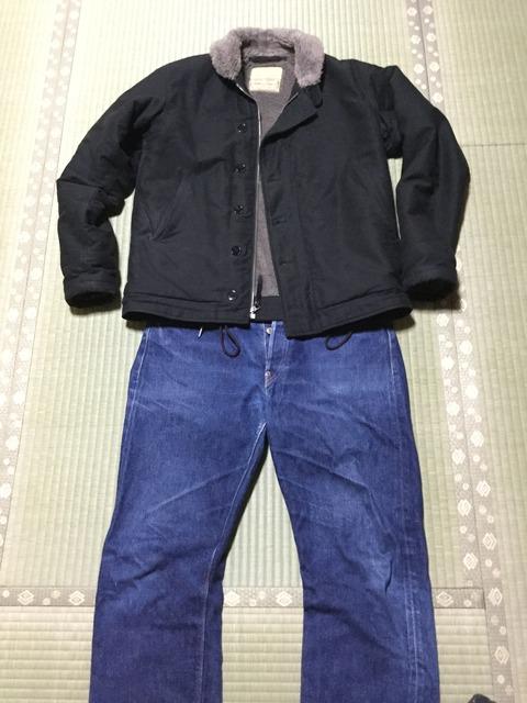 N1デッキジャケット ブラック