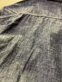 シャンブレーシャツ 表面