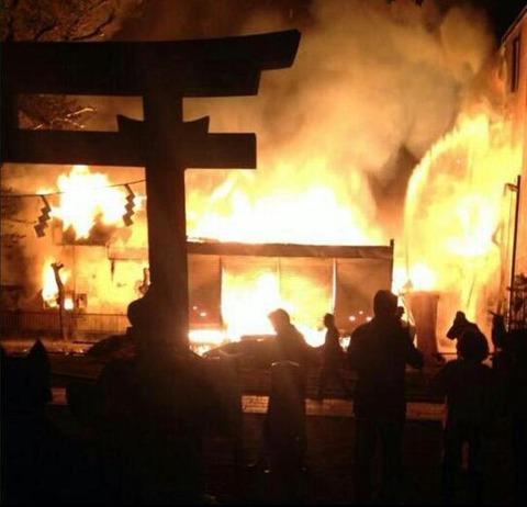 外国人、在日朝鮮人による寺社火事の件数がやばすぎる