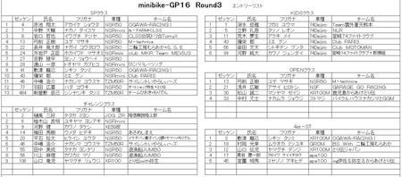 16R−3 リスト