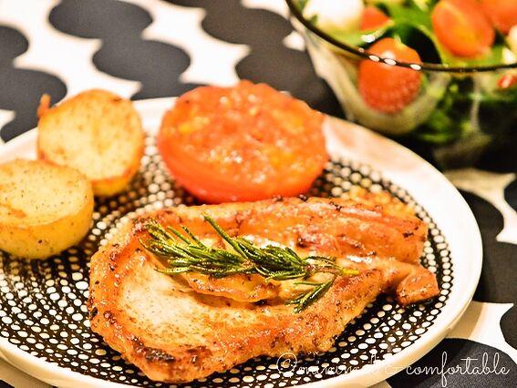 marimekko シイルトラプータルハ 豚のローズマリー焼き