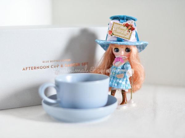 ブルーボトルコーヒー ホリデーコレクション イイホシユミコ カップ&ソーサー