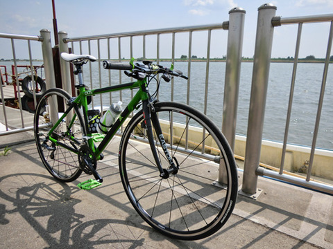 GW突入! 1ヶ月ぶりのロードバイクで利根川を満喫してきた!!
