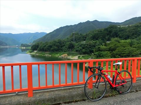 【真夏ライド】ロードバイクで草木ダムへ!