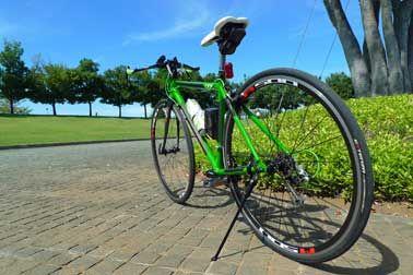 自転車でリフレッシュトレーニング