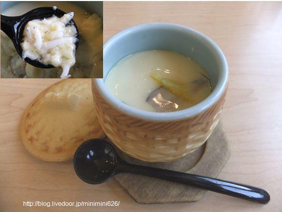 しらすの茶碗蒸し③-2
