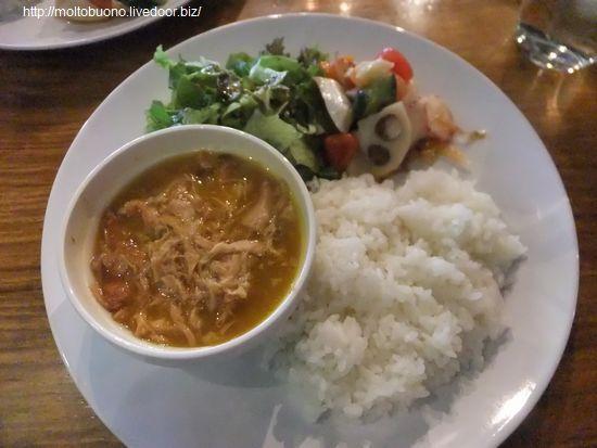 ランチプレート(美学カレー&タコとエビと野菜のマリネ)②-1