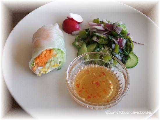 生春巻きと季節野菜のヤム⑥-1