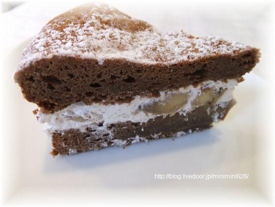 チョコレートケーキ③-1