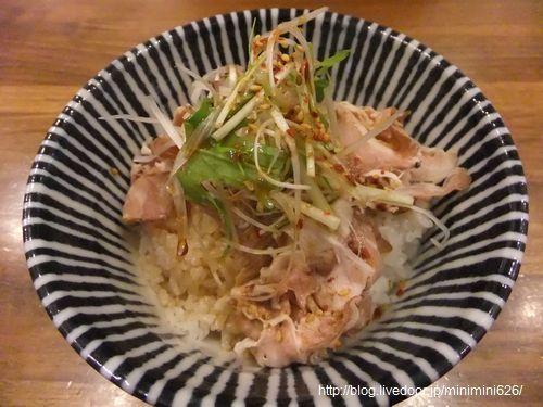 焼豚のたたき飯①-1