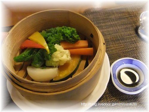 旬野菜のせいろ蒸し⑤-1