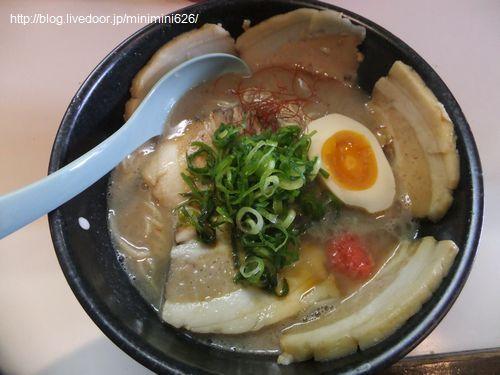 熱血チャーシュー麺豚骨④-1