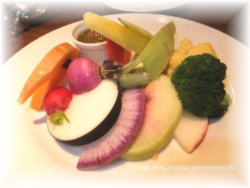 鎌倉野菜たっぷりのバーニャカウダ⑦-1