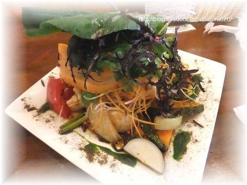 お魚ランチ(朝〆すずきグリル 冬野菜添え)③-1