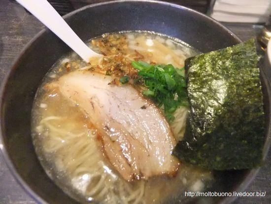 塩煮干しらぁ麺②-1