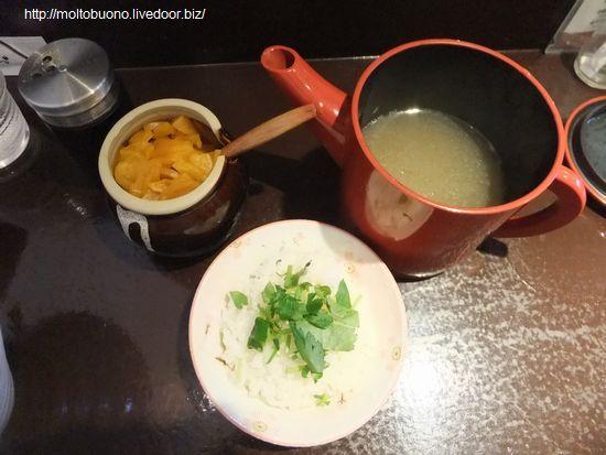 カレー茶漬け①-1
