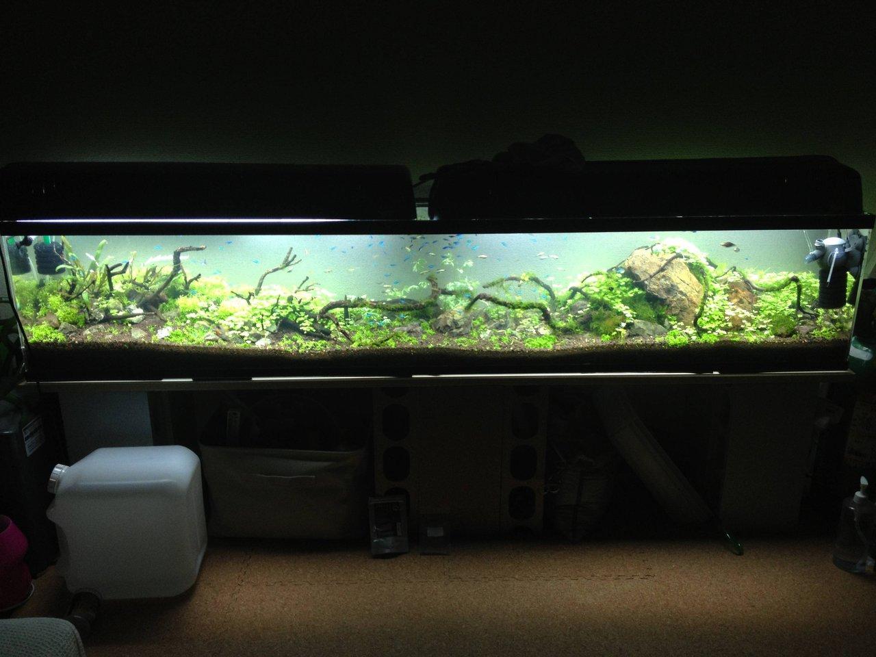 90 センチ 水槽 水量